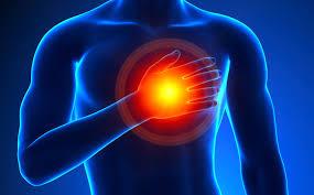نمی توان محل درد قلبی را به صورت دقیق در یک نقطه مشخص کرد.