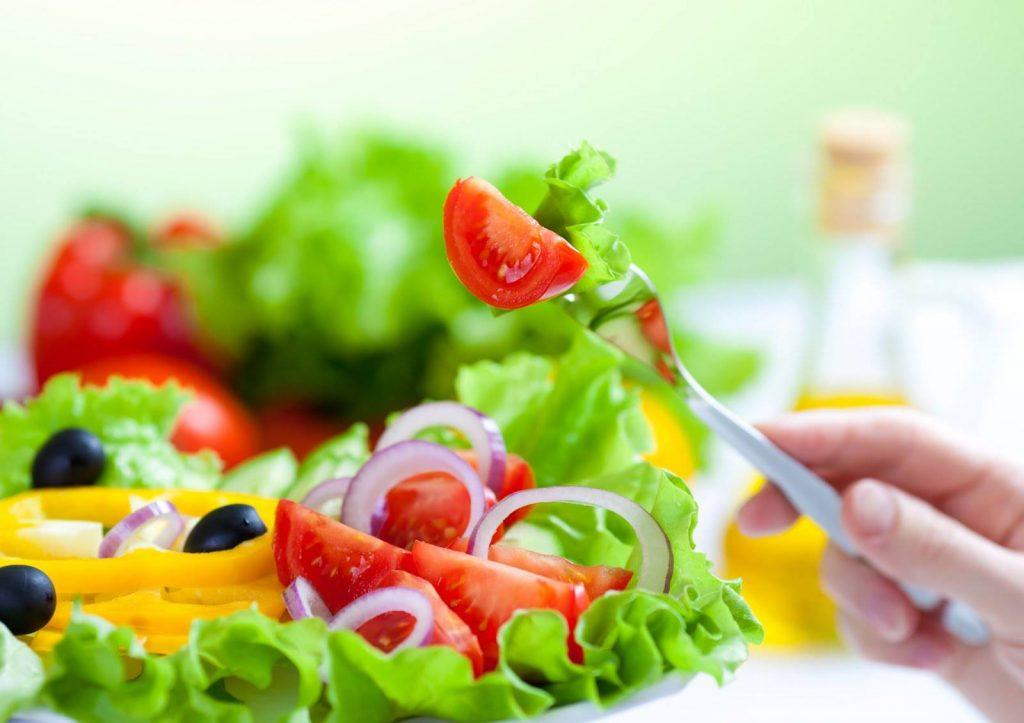استفاده از سبزیجات با رژیم مدیترانه ای و DASH